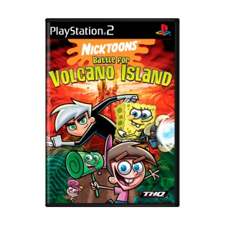 Jogo Nicktoons: Battle for Volcano Island - PS2