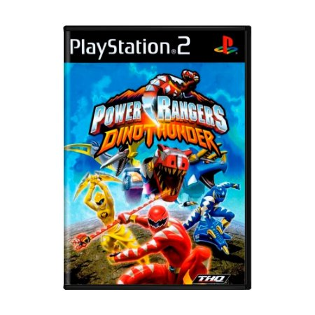 Jogo Power Rangers: Dino Thunder - PS2