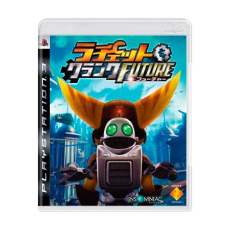 Jogo Ratchet & Clank Future Tools of Destruction - PS3 (Japonês)