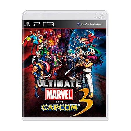 Jogo Ultimate Marvel Vs. Capcom 3 - PS3