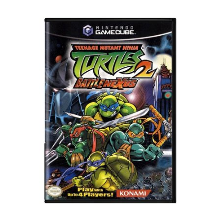 Jogo Teenage Mutant Ninja Turtles 2: Battle Nexus - GC - GameCube