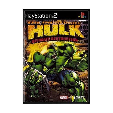 Jogo The Incredible Hulk: Ultimate Destruction - PS2