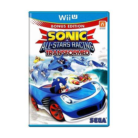 Jogo Sonic & All-Stars Racing Transformed - Wii U