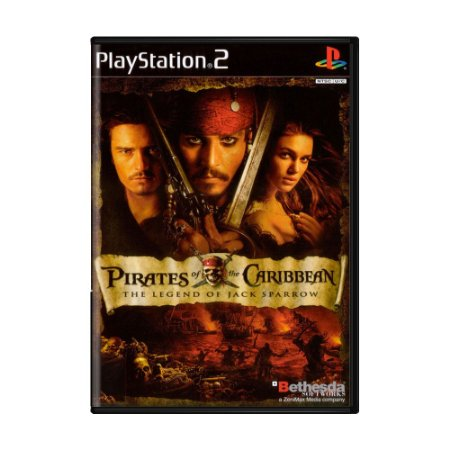Jogo Pirates of the Caribbean: The Legend of Jack Sparrow - PS2