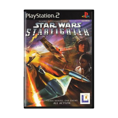Jogo Star Wars Starfighter - PS2