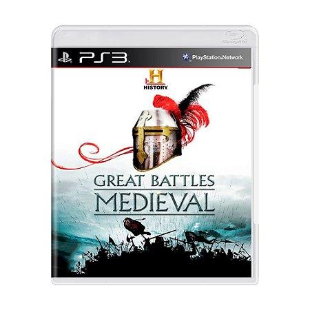 Jogo Great Battles Medieval - PS3