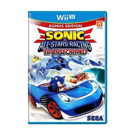 Jogo Sonic & All-Stars Racing: Transformed - Wii U