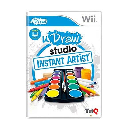 Jogo uDraw Studio: Instant Artist - Wii