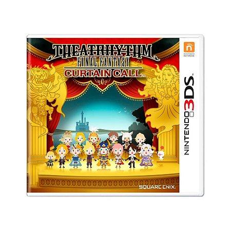 Jogo Theatrhythm Final Fantasy: Curtain Call - 3DS