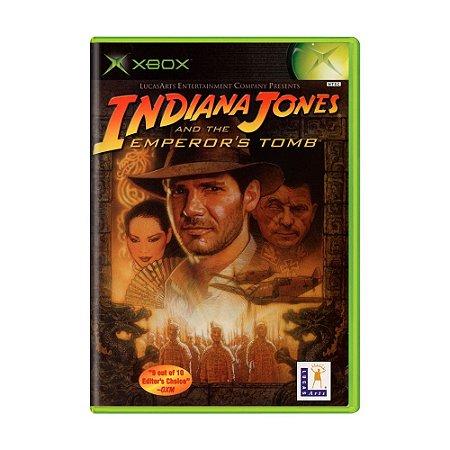 Jogo Indiana Jones and the Emperor's Tomb - Xbox