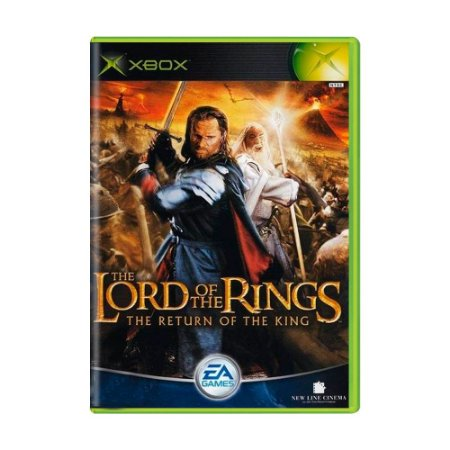 Jogo Lord of the Rings: The Return of The King - Xbox