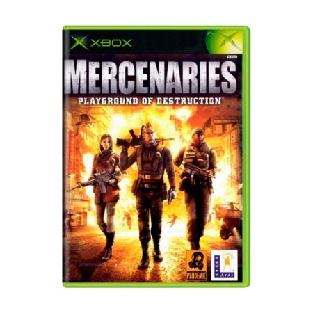 Jogo Mercenaries Playground of Destruction - Xbox