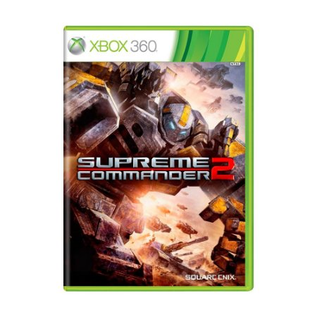 Jogo Supreme Commander 2 - Xbox 360