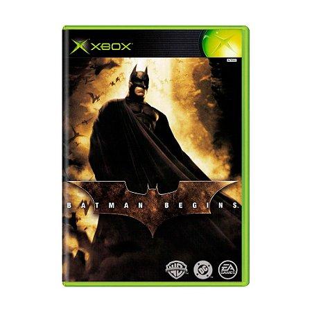 Jogo Batman Begins - Xbox