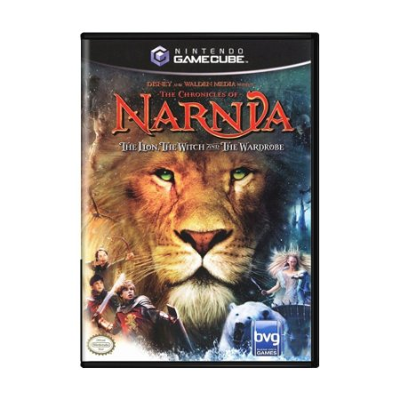Jogo The Chronicles of Narnia: The Lion, the Witch and the Wardrobe - GC - GameCube