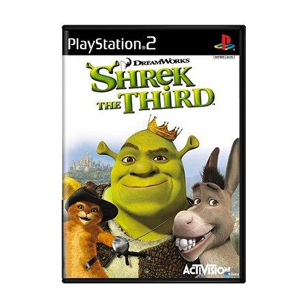 Jogo Shrek the Third - PS2