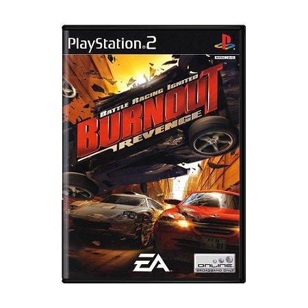 Jogo Burnout Revenge - PS2