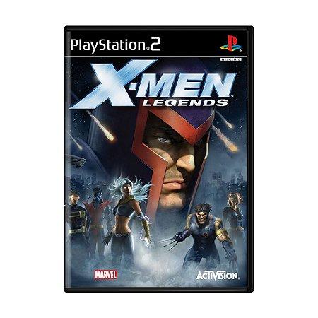 Jogo X-Men Legends - PS2