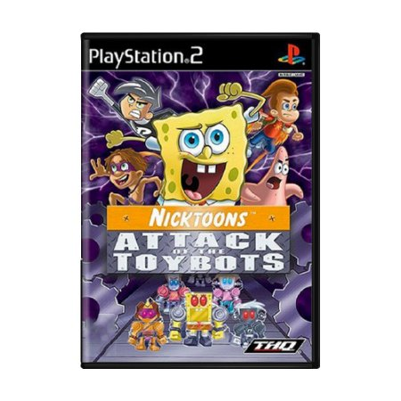 Jogo Nicktoons: Attack of the Toybots - PS2