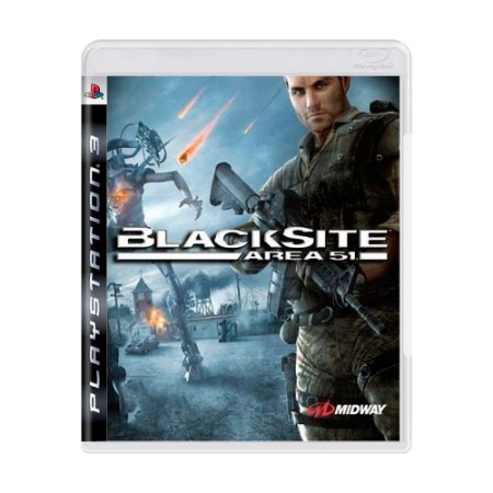 Jogo Blacksite: Area 51 - PS3