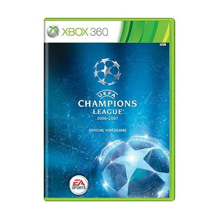 Jogo UEFA Champions League (2006-2007) - Xbox 360
