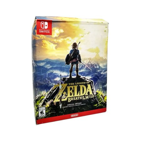 Embalagem The Legend of Zelda Breath of Wild (Special Edition) - Switch