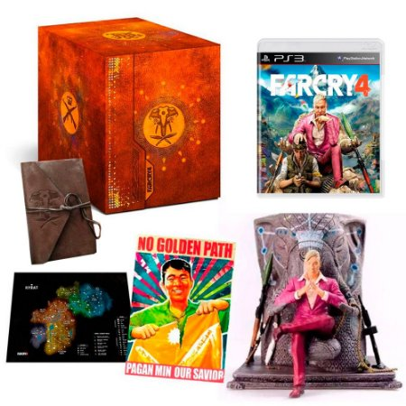 Jogo Far Cry 4 (Kyrat Edition) - PS3