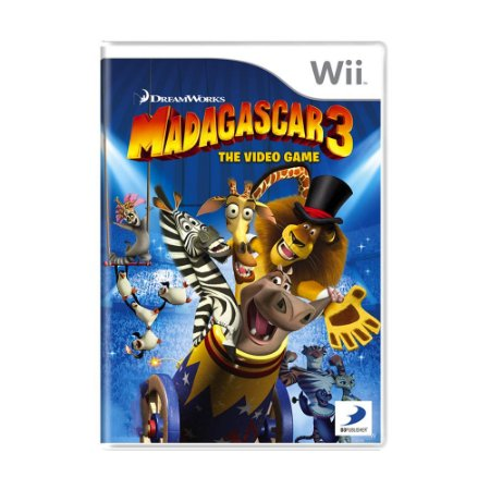Jogo Madagascar 3: The Video Game - Wii