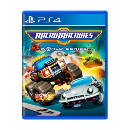 Jogo Micro Machines World Series - PS4