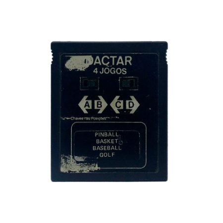 Jogo Dactar 4 em 1 (Pinball, Basket, Baseball e Golf) - Atari