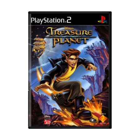 Jogo Treasure Planet - PS2