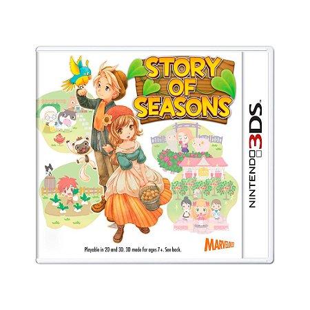 Jogo Story of Seasons - 3DS