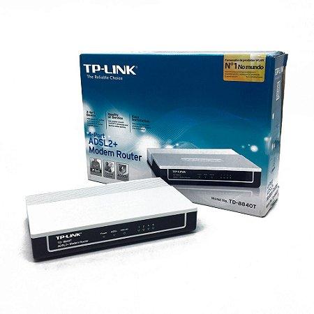 Modem Roteador TP-Link TD-8840T