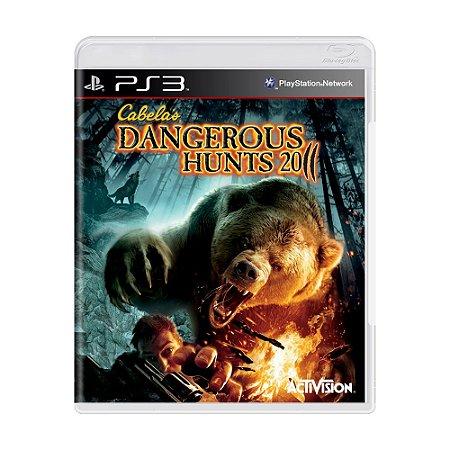 Jogo Cabela's Dangerous Hunts 2011 - PS3
