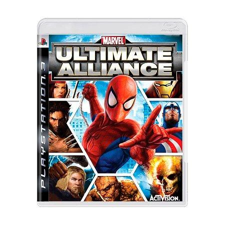 Jogo Marvel: Ultimate Alliance - PS3