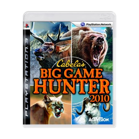 Jogo Cabela's Big Game Hunter 2010 - PS3