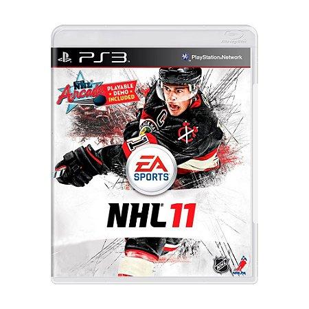 Jogo NHL 11 - PS3