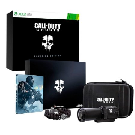 Jogo Call of Duty: Ghosts (Prestige Edition) - Xbox 360