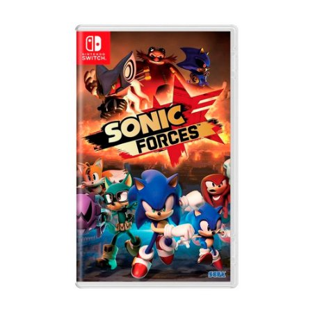 Jogo Sonic Forces - Switch
