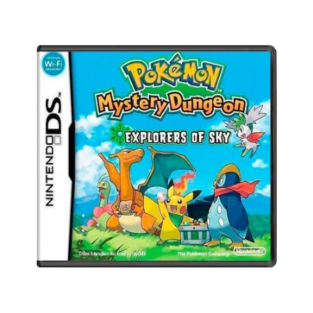 Jogo Pokémon Mystery Dungeon: Explorers of Sky - DS