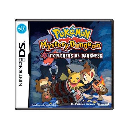 Jogo Pokémon Mystery Dungeon: Explorers of Darkness - DS