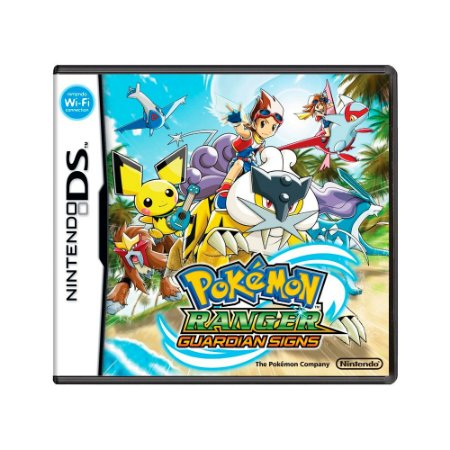 Jogo Pokémon Ranger: Guardian Signs - DS