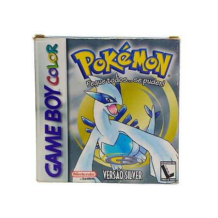 Jogo Pokémon Silver Version - GBC