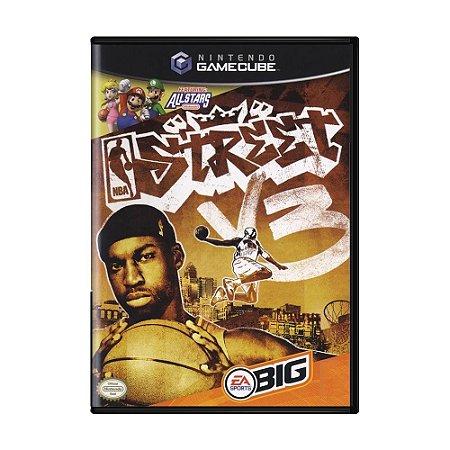 Jogo NBA Street V3 - GameCube