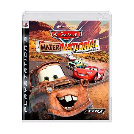 Jogo Cars: Mater-National Championship - PS3