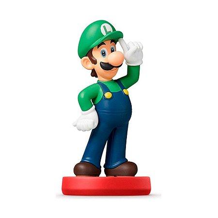 Nintendo Amiibo: Luigi - Super Mario - Wii U e New Nintendo 3DS