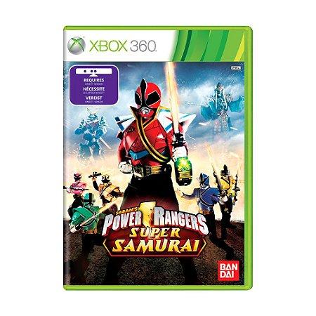 Jogo Power Rangers Super Samurai - Xbox 360