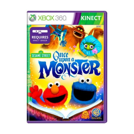 Jogo Sesame Street: Once Upon a Monster - Xbox 360