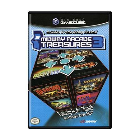 Jogo Midway Arcade Treasures 3 - GameCube