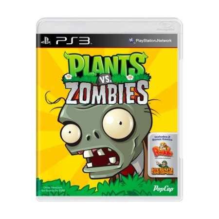 Jogo Plants Vs. Zombies - PS3